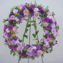 Funeral Wreath featuring Florigene Carnations