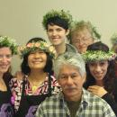 Floral Designer Class with hair wreaths
