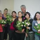 Phil with Hand-Tied Bouquets class