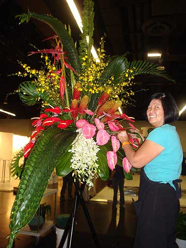 Phan Working On A Large Tropical Arrangement
